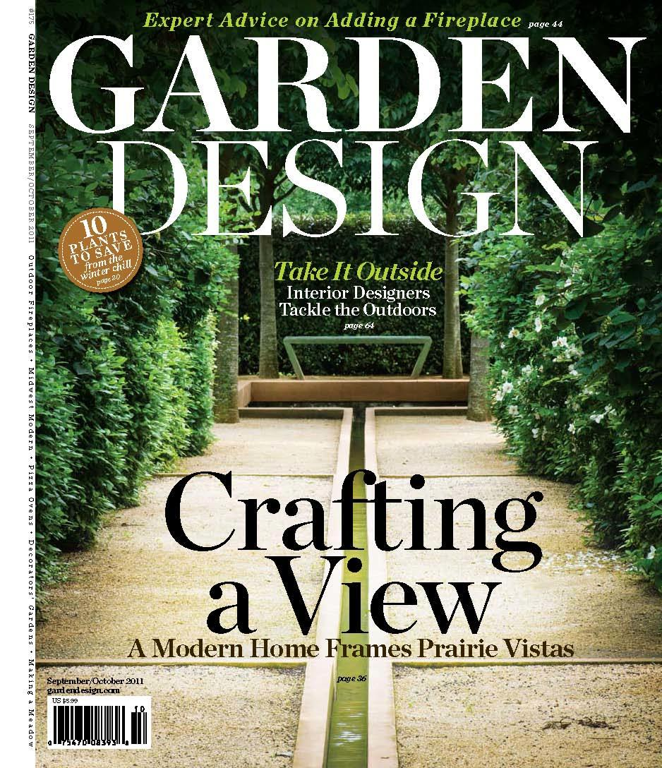 Garden Design mag debuts new design at James Beard