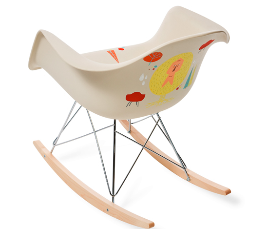 Herman Miller offers custom Eames rockers in contest