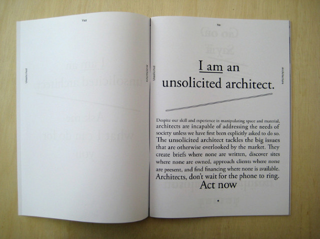 Architecture curator makes print publishing an art form