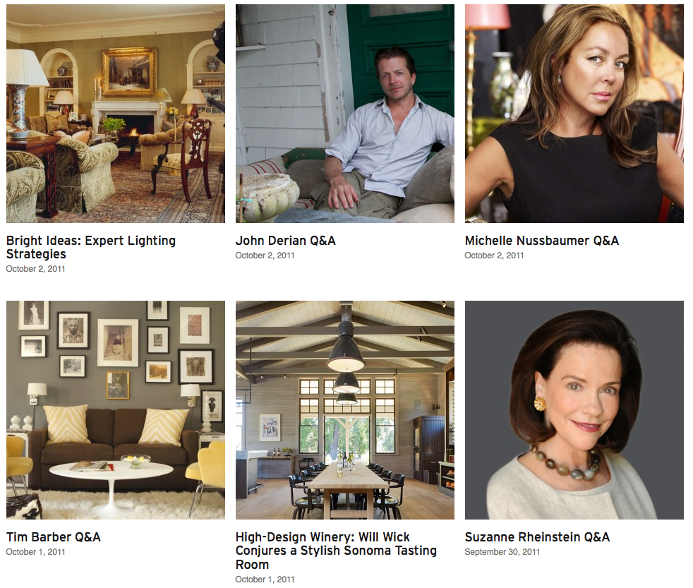 Interior design marketplace Dering Hall launches