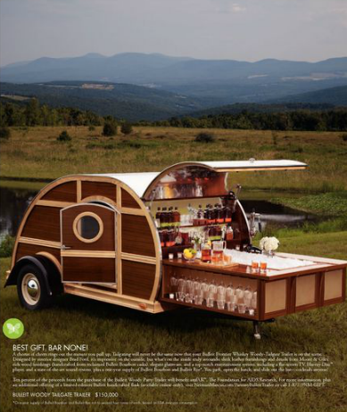 Brad Ford's Tailgate Trailer to be sold through Neiman Marcus
