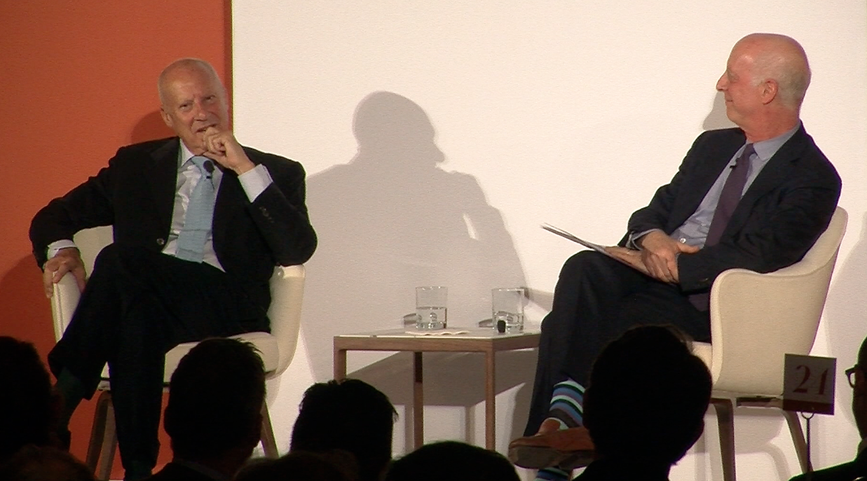 DLS Recap: Norman Foster and Paul Goldberger