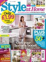 New British home mag 'Style at Home' to launch in May