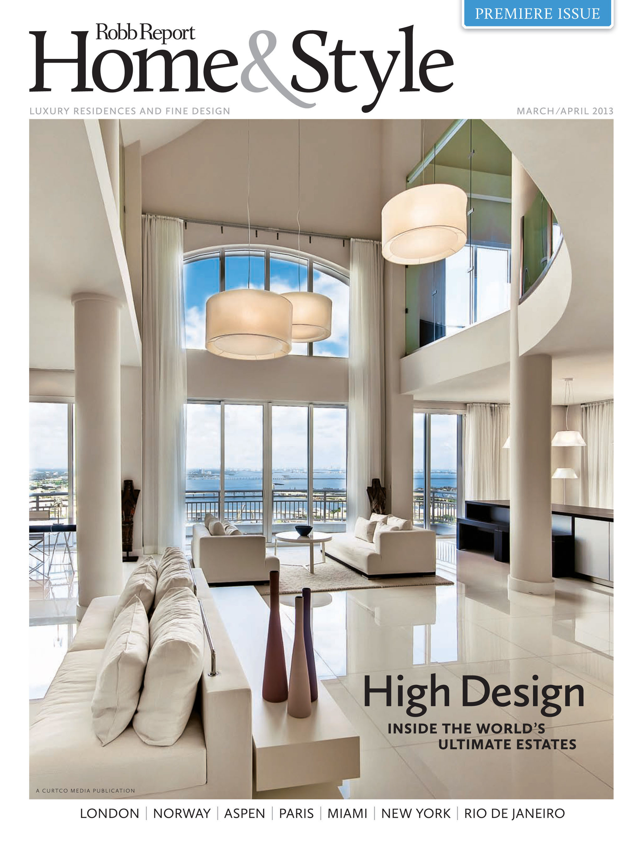 Home Style Will Be Poly Bagged With Robb Report And Delivered To Its