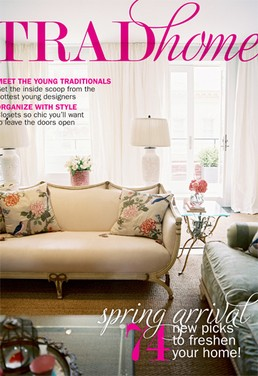 "Lonny and Traditional Home partner on new mag, ""Trad Home"""